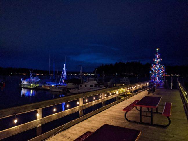Port of Keyport Christmas Lights